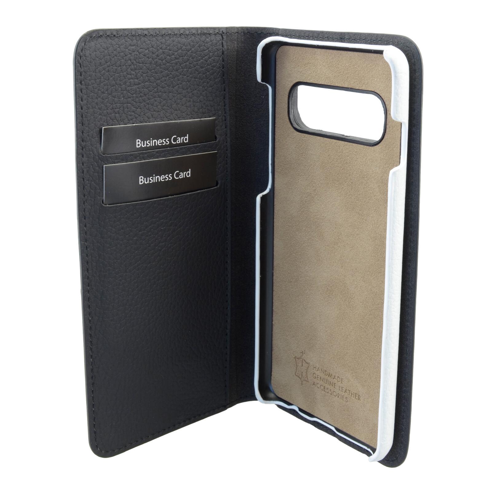 Galeli Book Nino Samsung Galaxy S10 Schwarz/Weiss