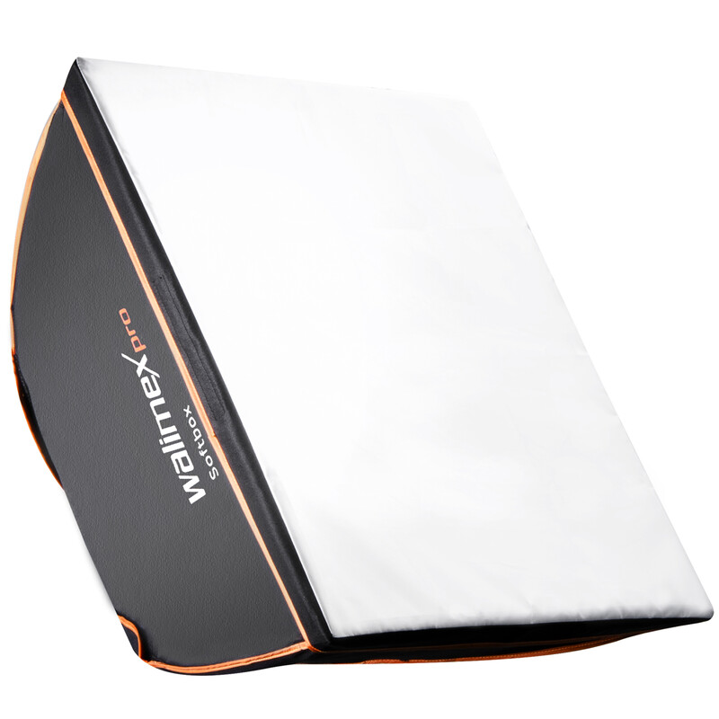 walimex pro Softbox Orange Line 90x90