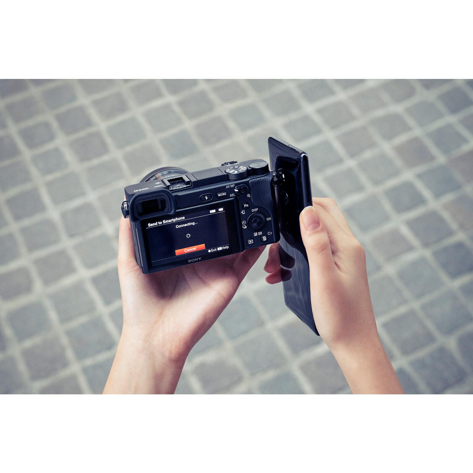 Sony ALPHA 6400 + SELP 16-50/3,5-5,6 OSS