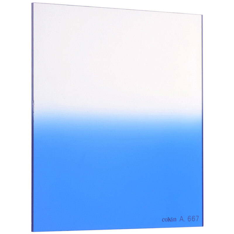 Cokin P667 Verlauf leuchtend Blau 2