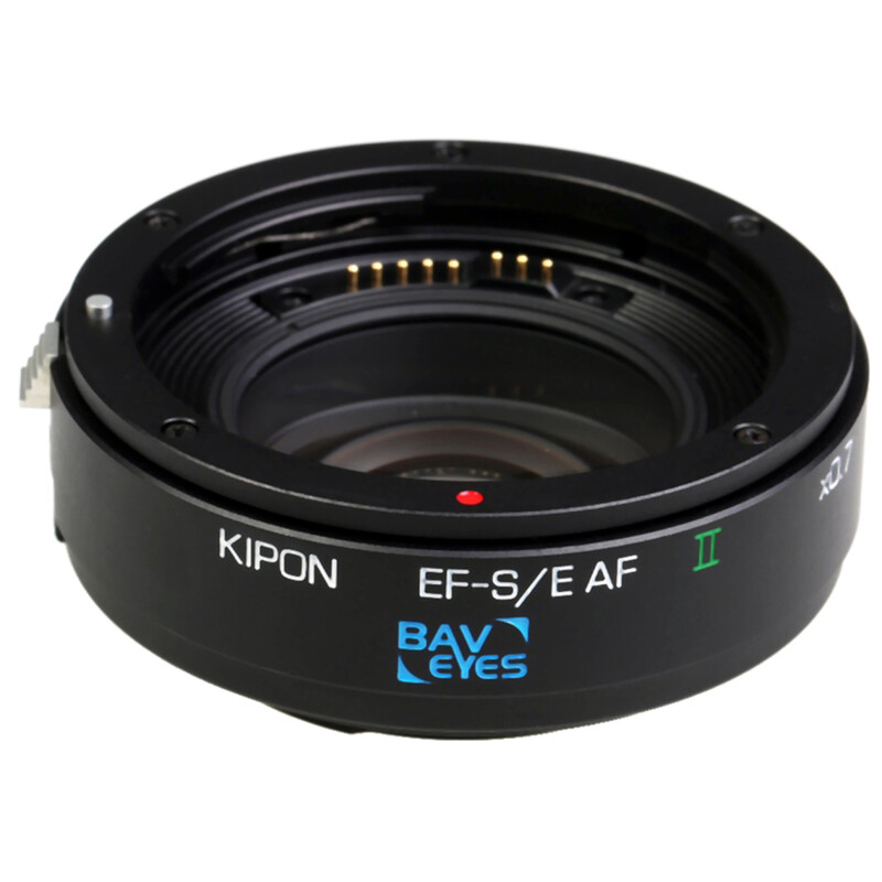 Kipon Baveyes AF Adapter Canon EF-MFT x0,7 o. Support