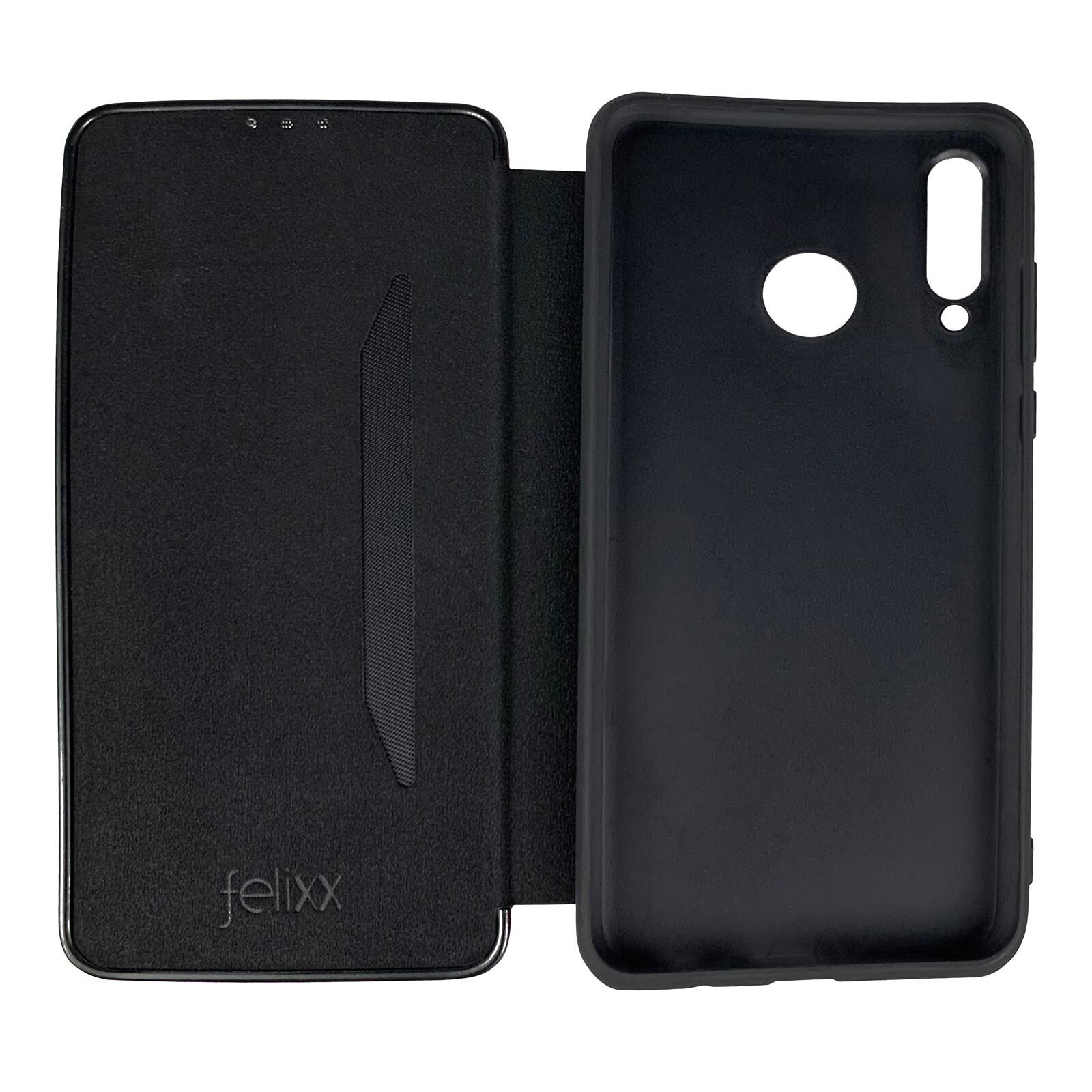 Felixx Book Tasche Verona Huawei P Smart schwarz