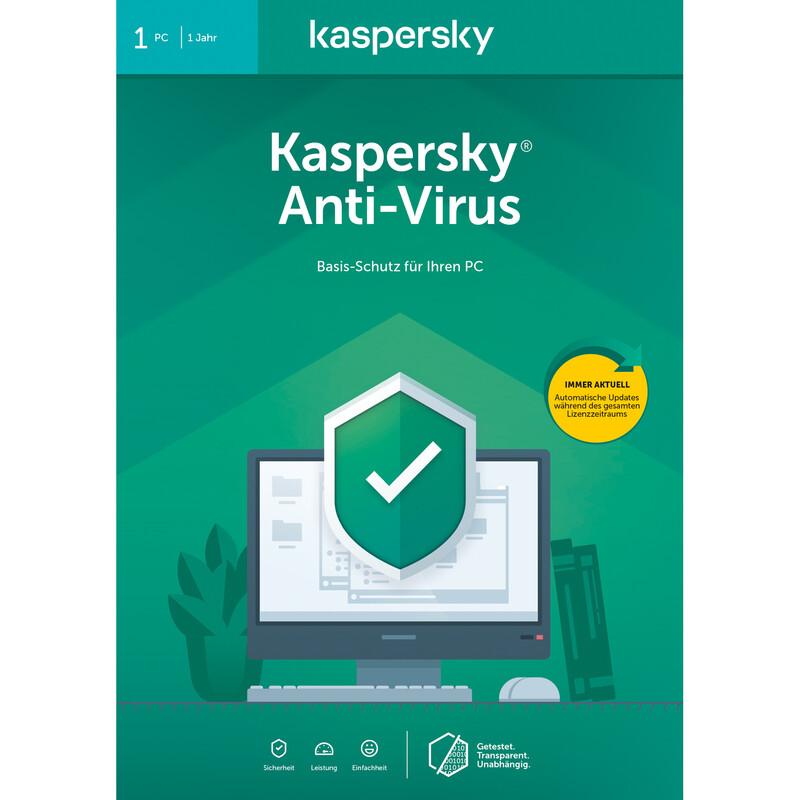 Kaspersky Anti-Virus (Code in a Box) 2020