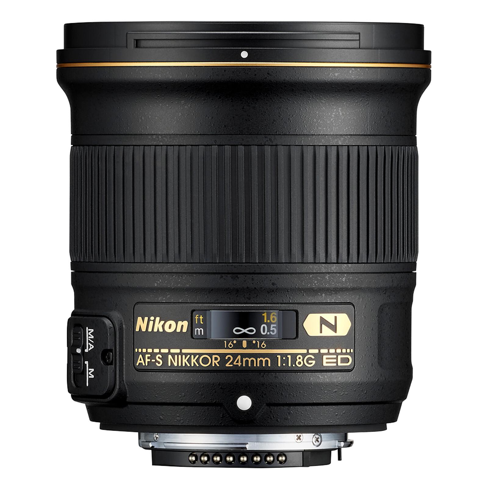 Nikkor AF-S 24/1,8G ED + UV Filter