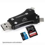 Ki-Tec i-Flash 4in1 Kartenleser