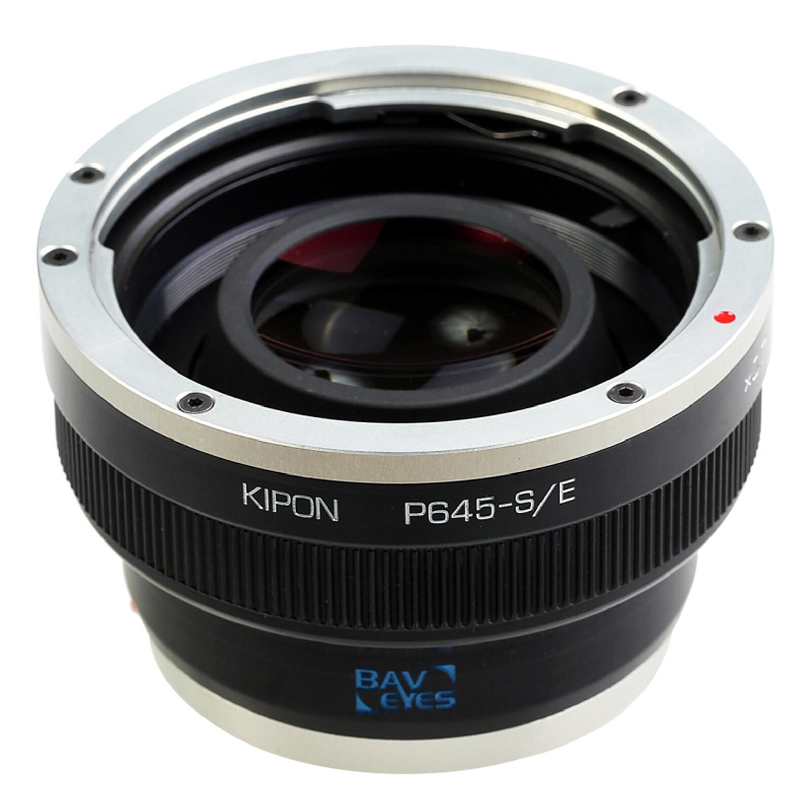 Kipon Baveyes Adapter für Pentax 645 auf Sony E (x0.7)