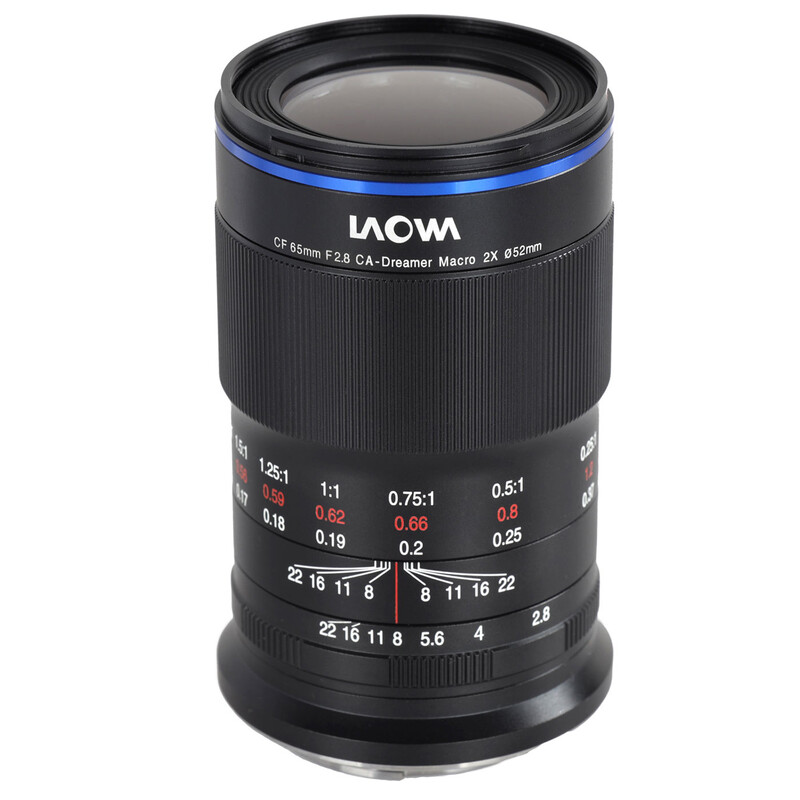 LAOWA 65/2,8 2X Ultra Makro APO Canon EF-M + UV Filter