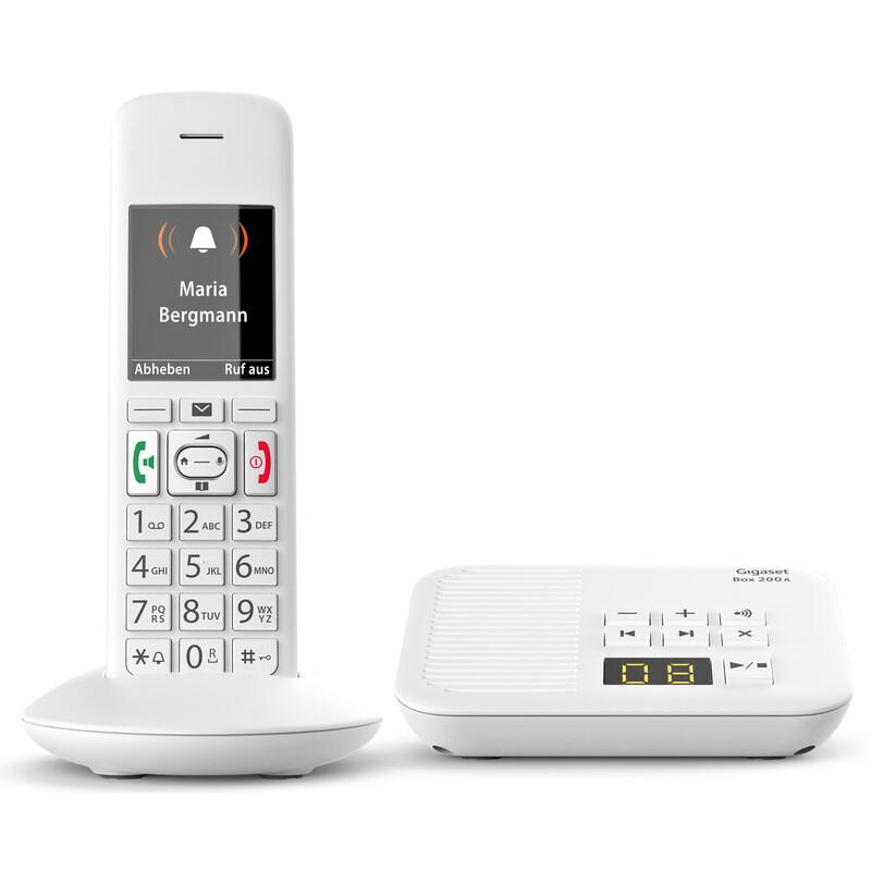 Gigaset E370A Schnurlostelefon mit AB