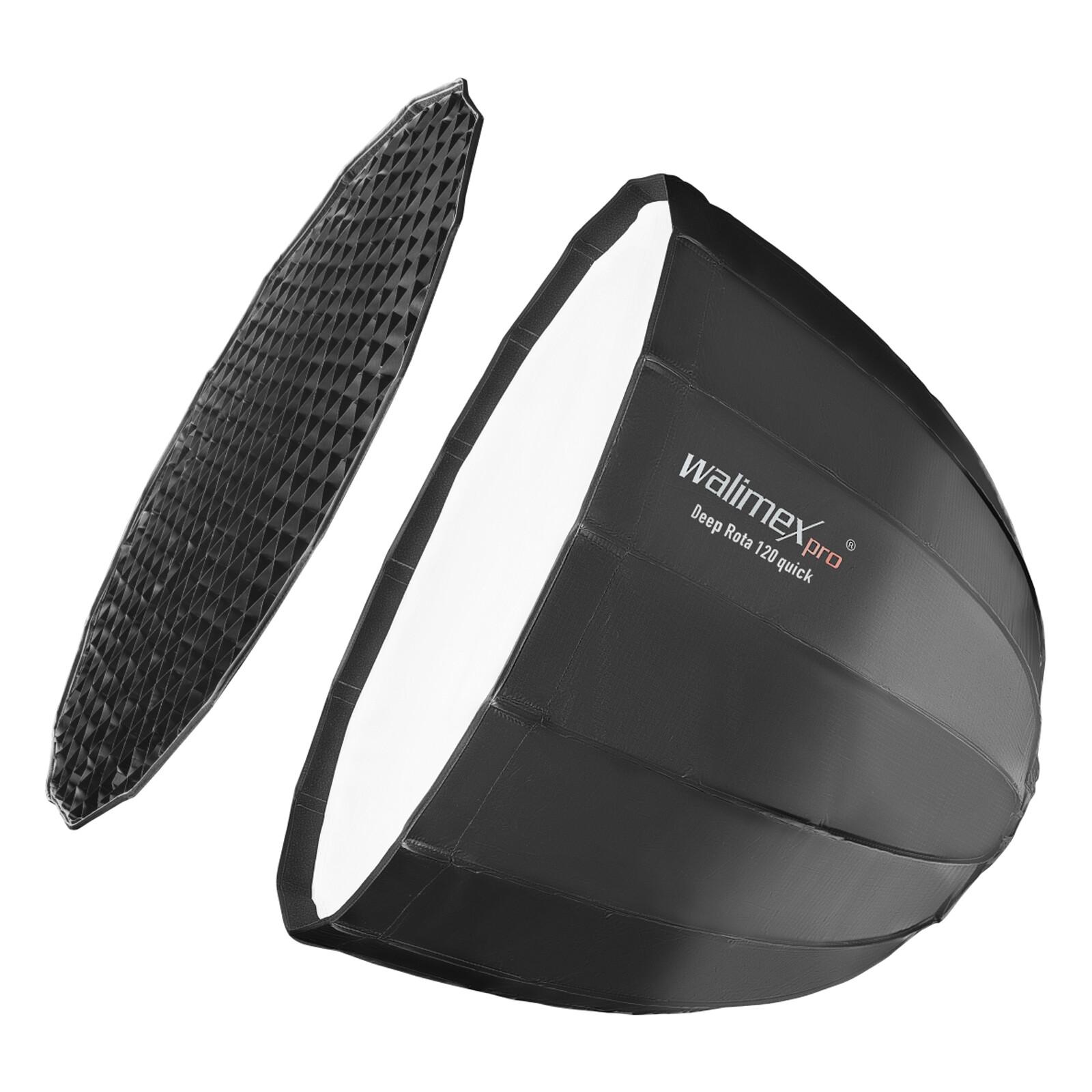 Walimex pro Studio Line Deep Rota Softbox QA120 Aurora/Bowen