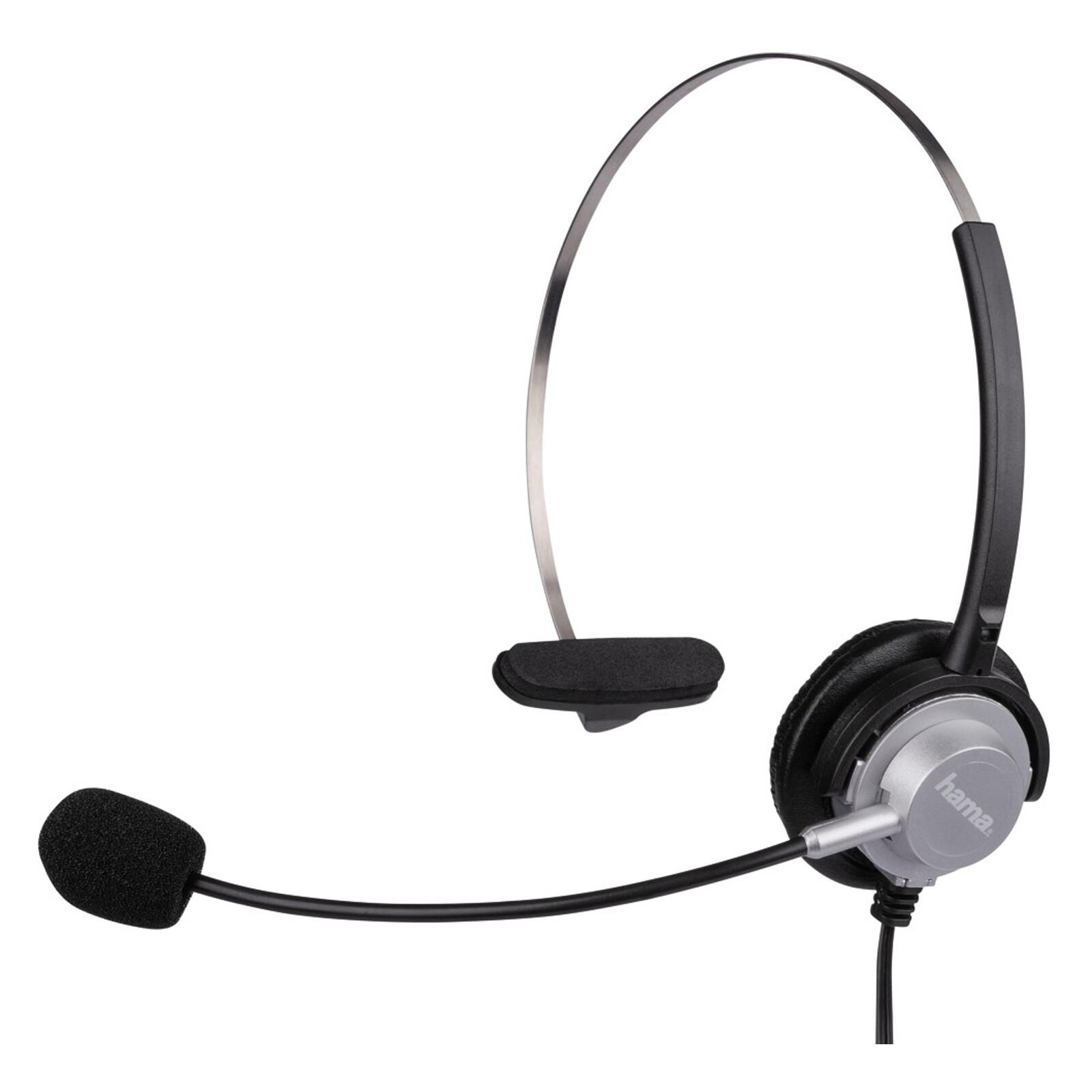 Hama 40625 Headset für schnurlose Telefone, 2,5-mm-Klinke
