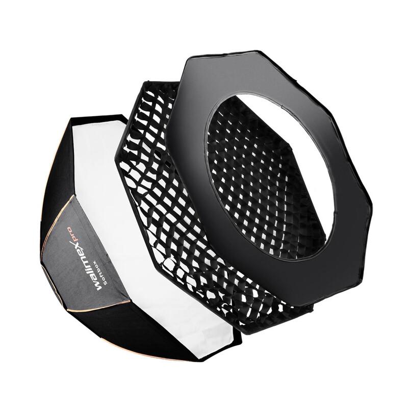 walimex pro Octa Softbox PLUS OL Ø45 + Uni Adapter