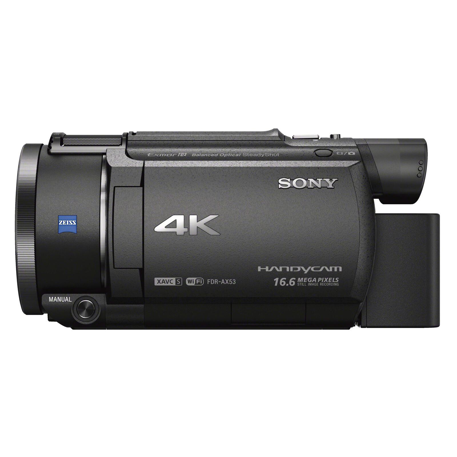 Sony FDR-AX53B 4K Camcorder