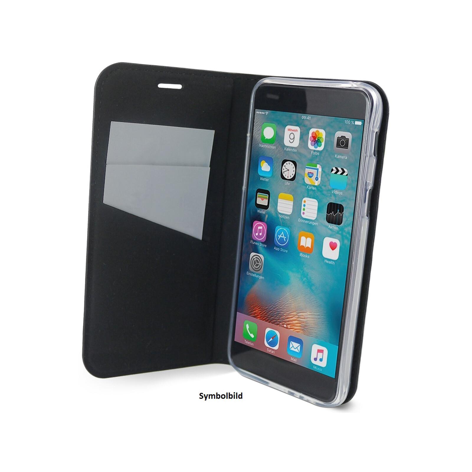 Axxtra Book Apple iPhone XS Max schwarz
