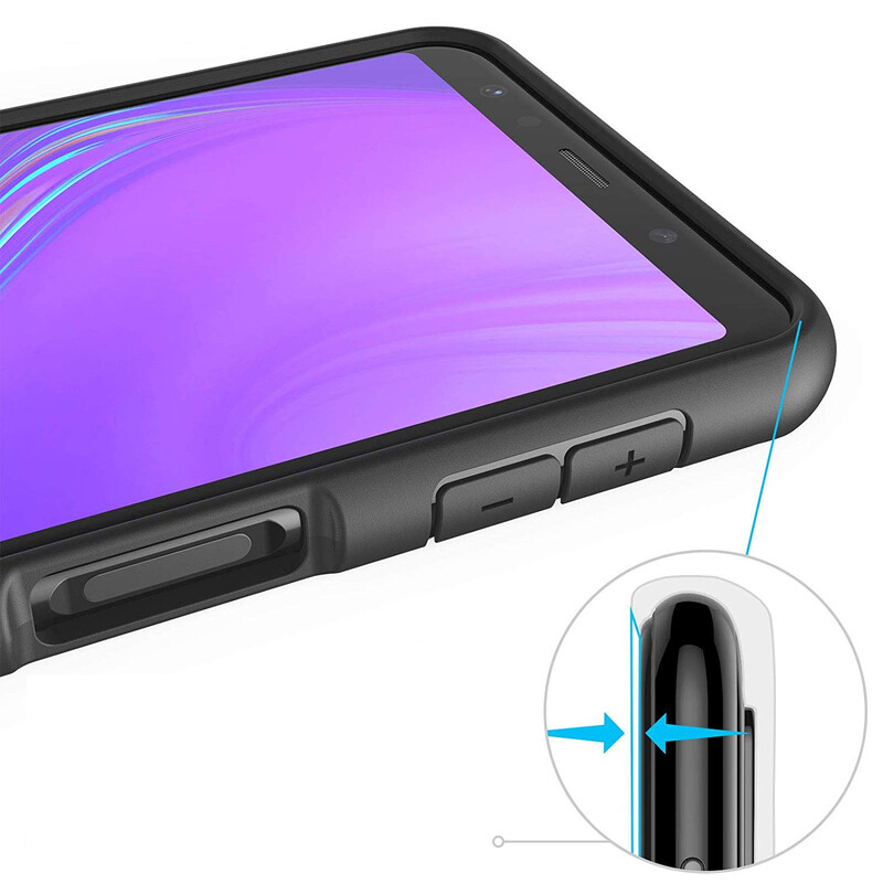 Felixx Back Hybrid Plus Samsung Galaxy A7 2018 schwarz
