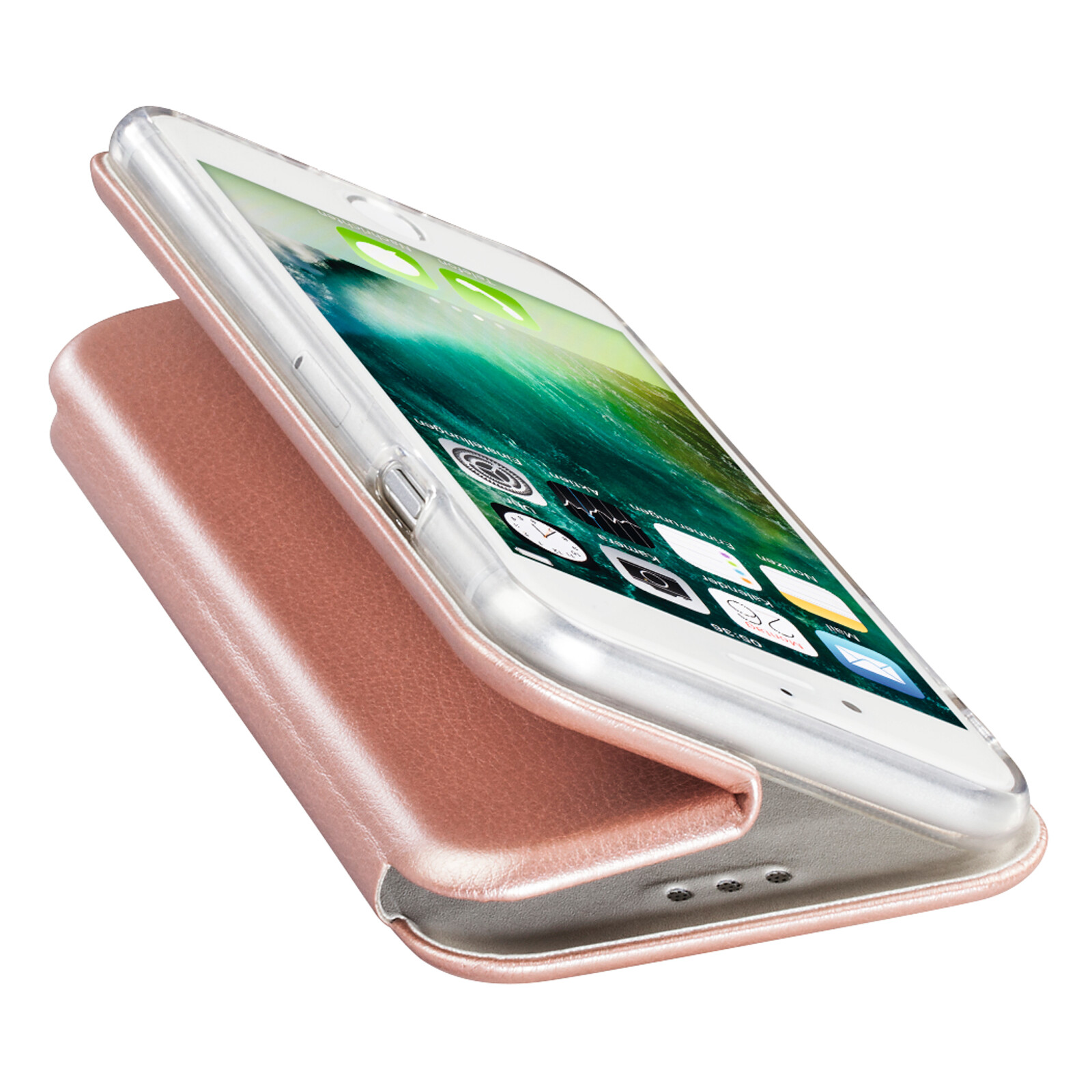 Hama Book Tasche Curve Apple iPhone 7/8 rosegold