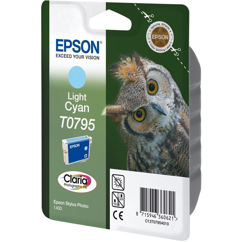 Epson T0795 Tinte Photo Light Cyan 11ml