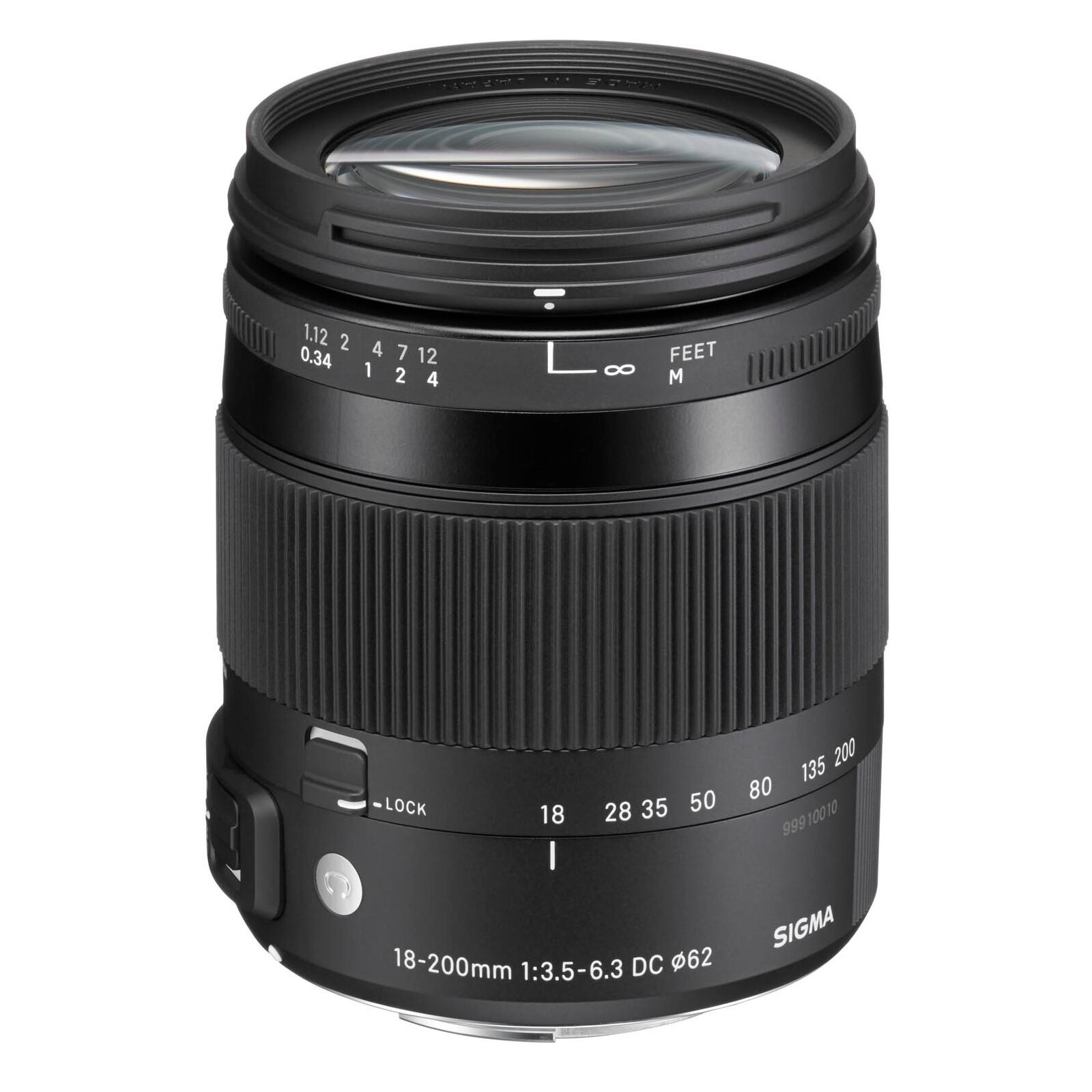 Sigma 18-200/3,5-6,3 DC OS HSM Canon