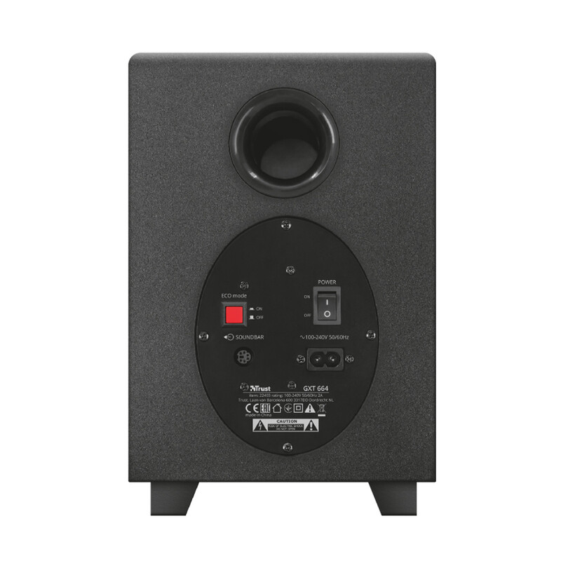 Trust GXT 664 Unca 2.1 Soundbar Speaker Set