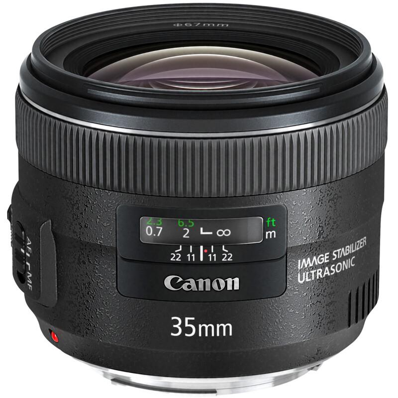 Canon EF 35/2,0 IS USM + UV Filter