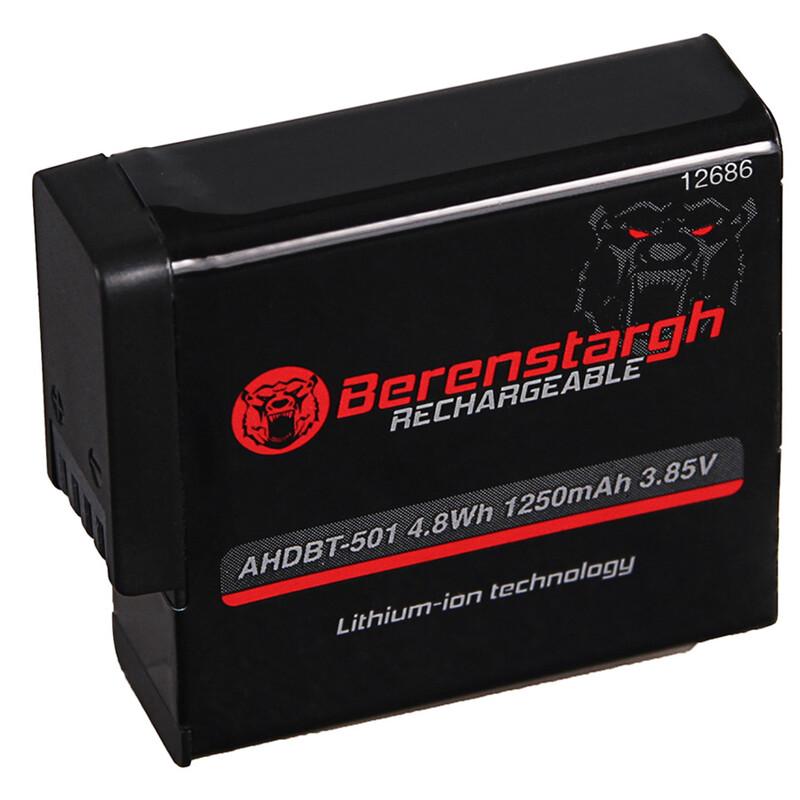 AGI BS12686 Akku Berenstargh GoPro Hero 5