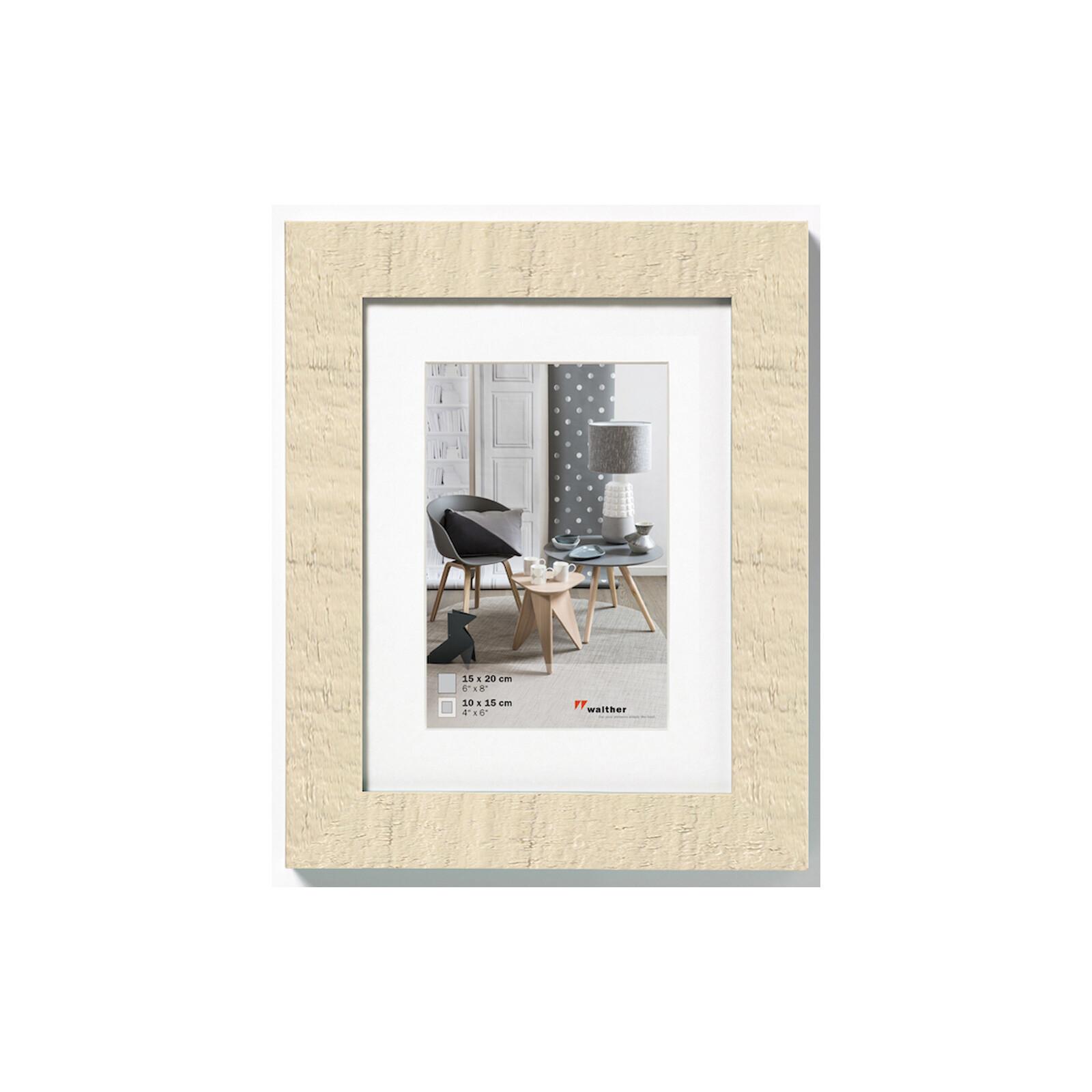 Rahmen Home 15x20 Holz Creme