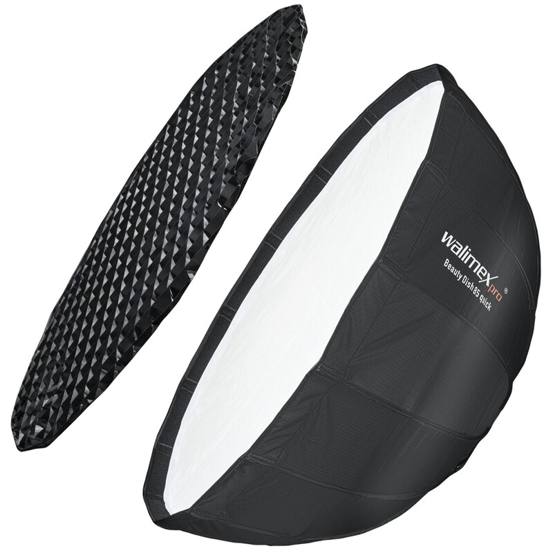 Walimex pro Studio Line Beauty Dish Softbox QA85 Hensel EH/R