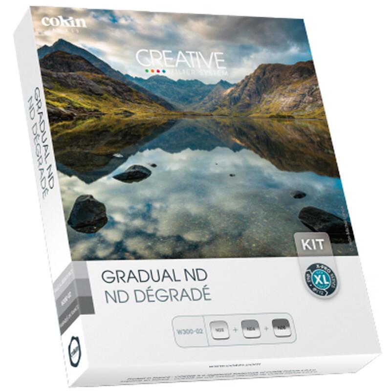 Cokin W300-02 Grau ND-Verlauf  Set X-Serie