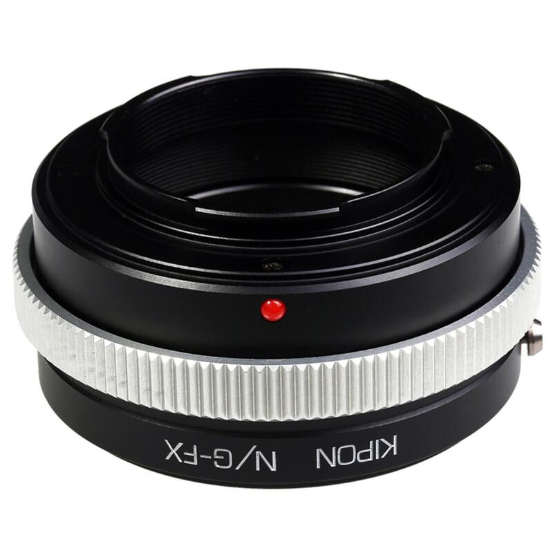 Kipon Adapter für Nikon G auf Fuji X