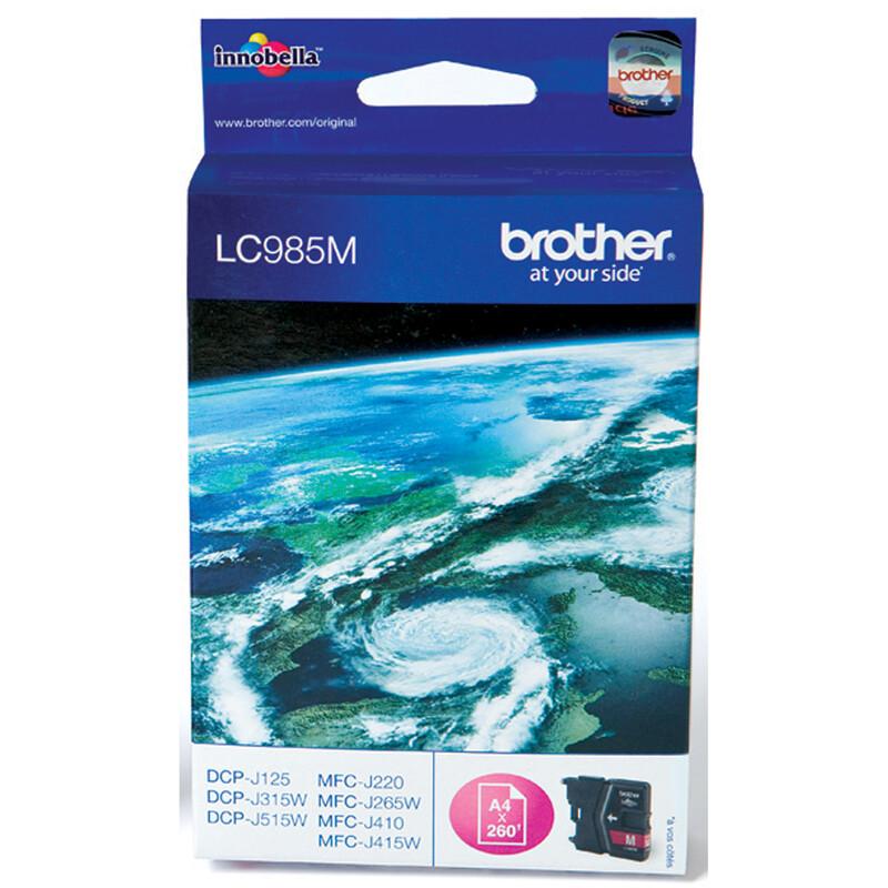 Brother LC-985M Tinte magenta