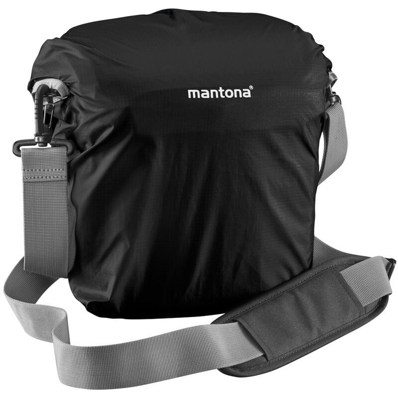 mantona Elements Outdoor Rucksack schwarz