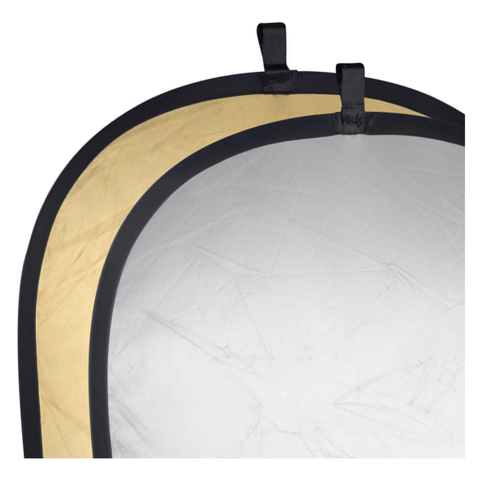 walimex 2in1 Faltreflektor silber/gold, 145x200cm