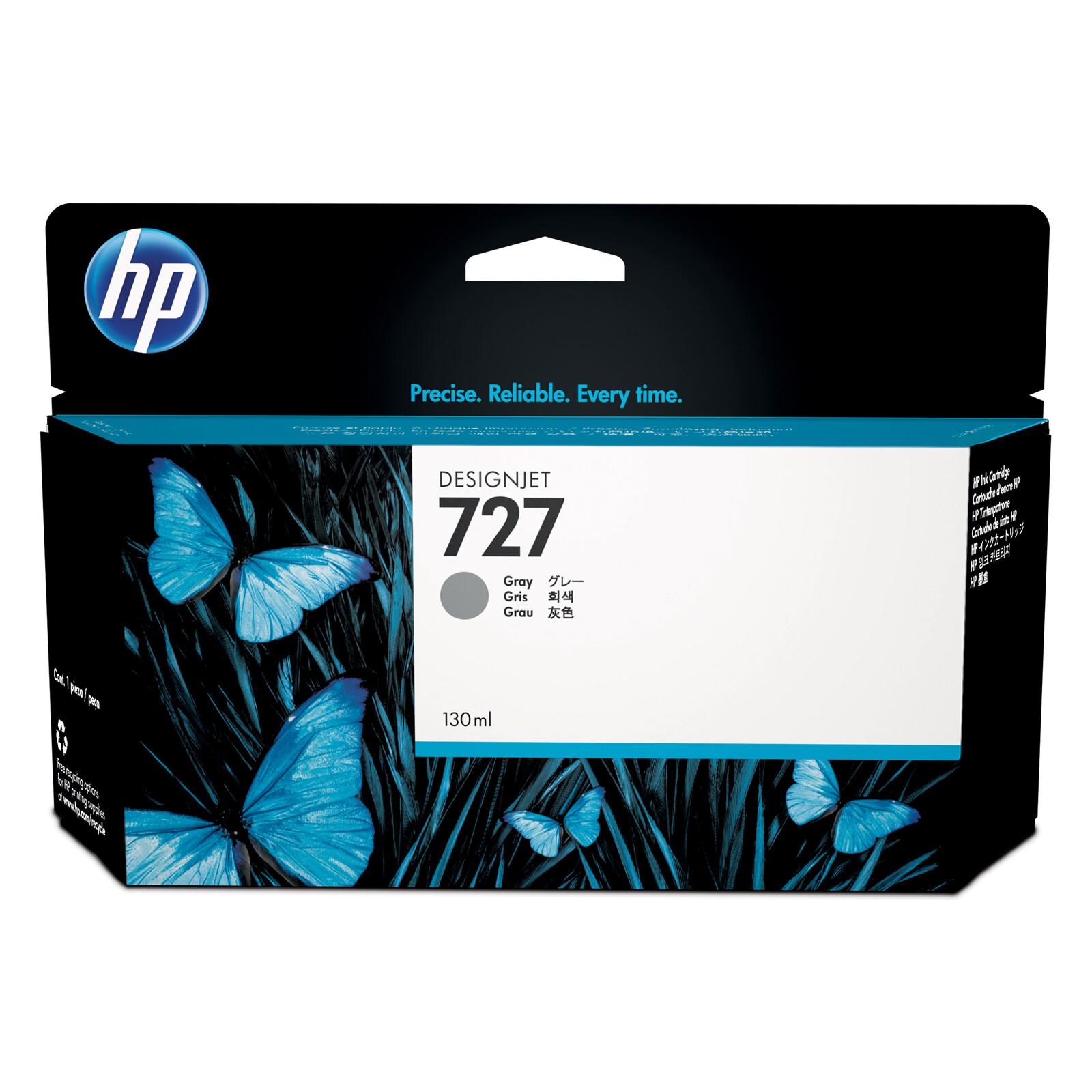 HP 727 B3P24A Tinte grey 130ml