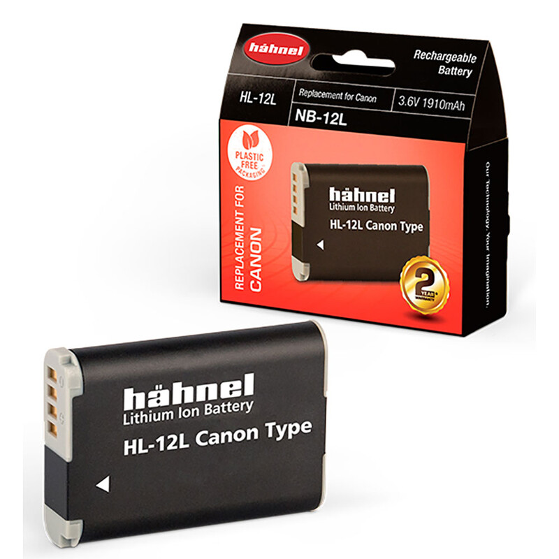 Hähnel Canon NB-12L Akku