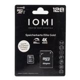 IOMI Micro-SD 128GB Speicherkarte - Ideal für Smartphones