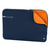 "Hama Notebook Tasche Neoprene 15,6"" blau/orange"