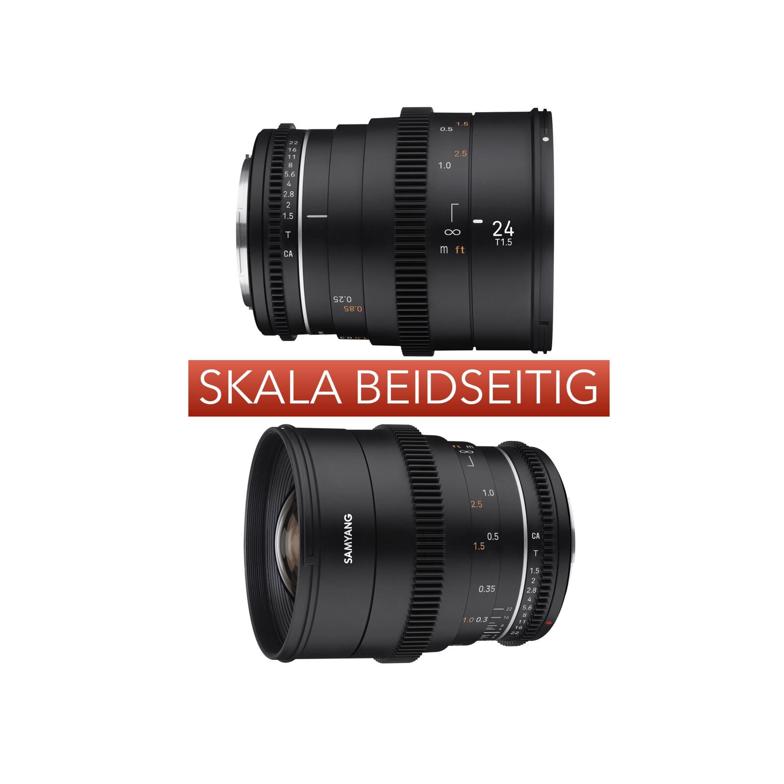 Samyang MF 85/1,5 VDSLR MK2 Canon M