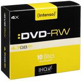 Intenso DVD-RW 4,7GB/4x Slim Case 10er