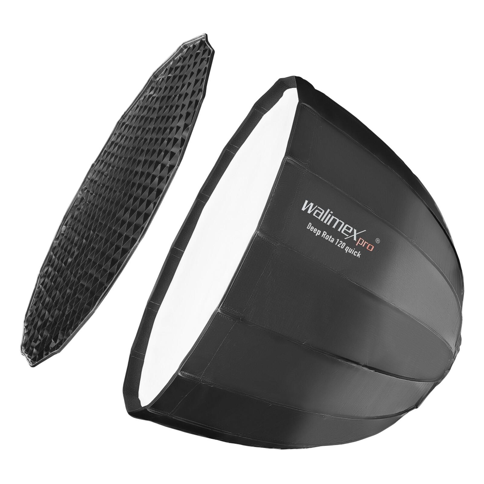 Walimex pro Studio Line Deep Rota Softbox QA120 Hensel EH/Ri