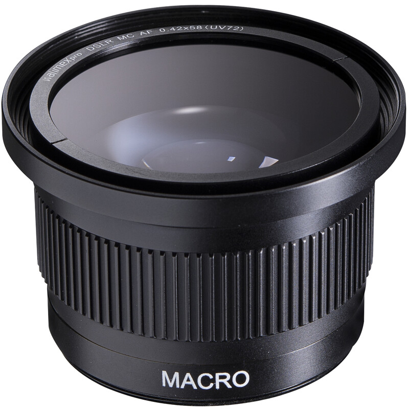 walimex pro Makro-Fish Eye Vorsatzlinse 0.42x58