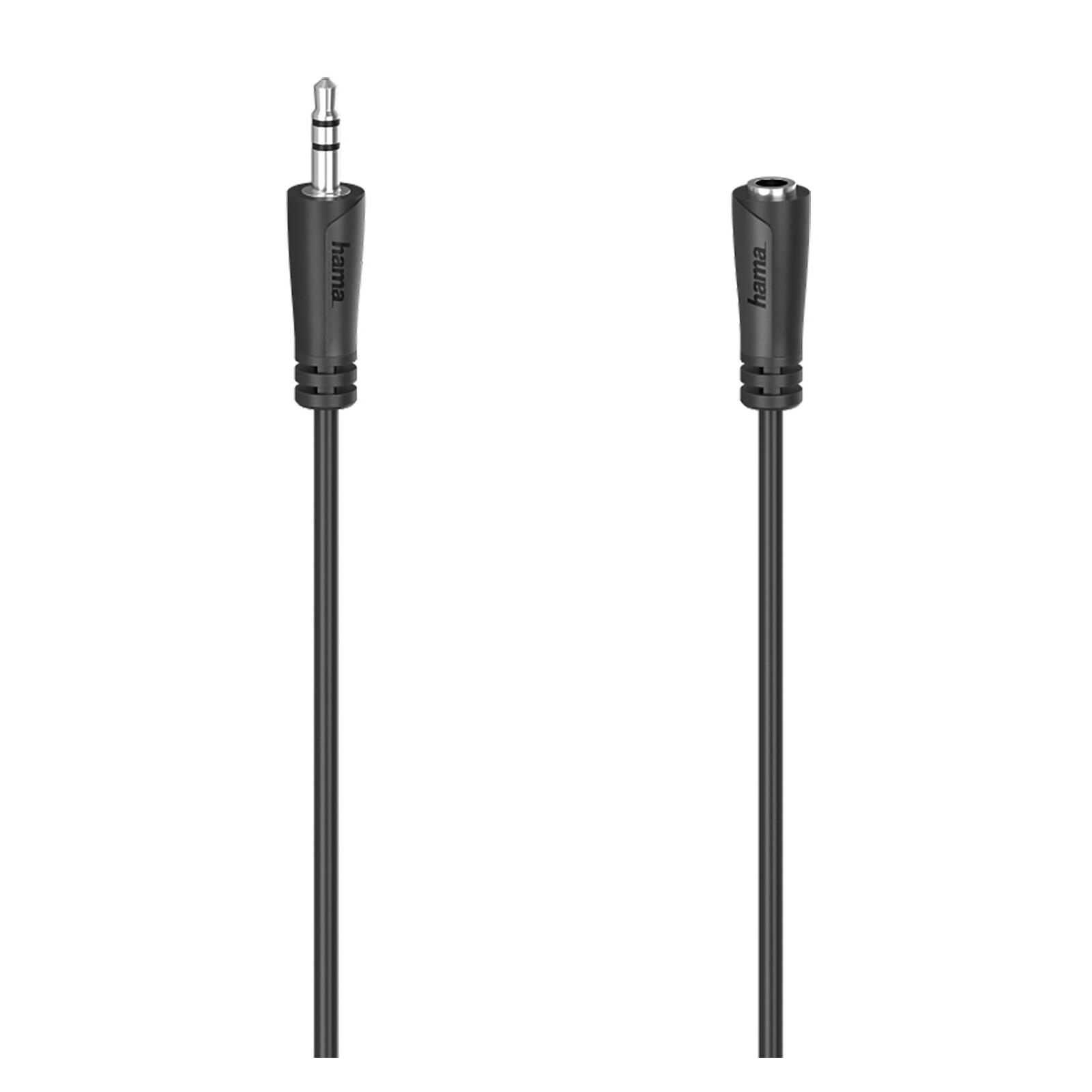 Hama 205121 Audio-Verlängerungskabel 5m