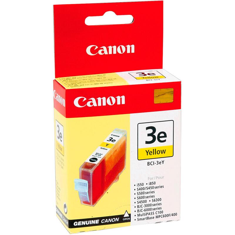 Canon BCI-3EY Tinte yellow 13ml