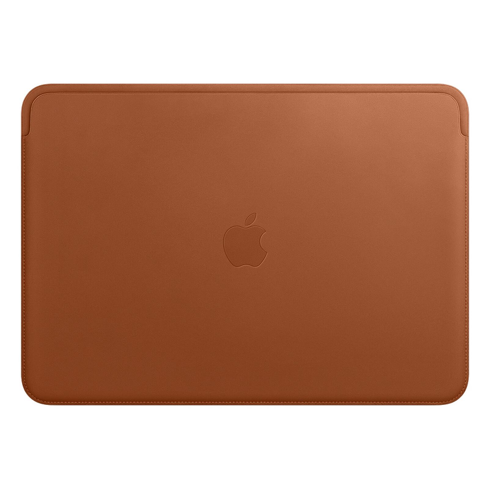 """Apple MacBook 13"""" Lederhülle Sattelbraun"""
