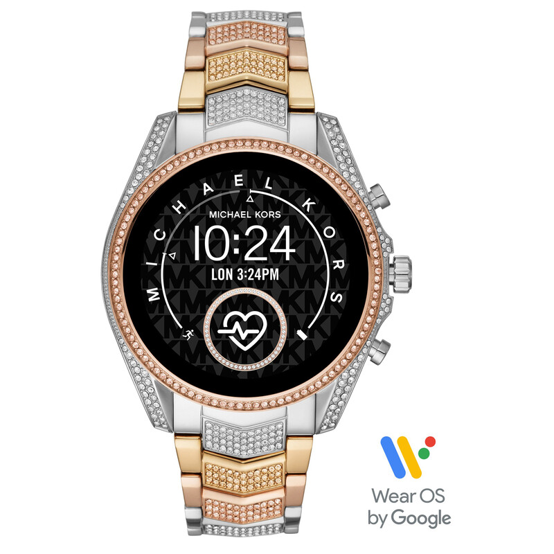 Michael Kors Smartwatch Bradshaw 2 silber