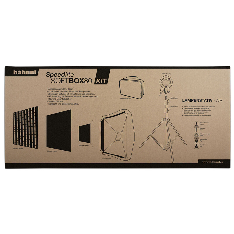 Hähnel Soft Box 80 Set