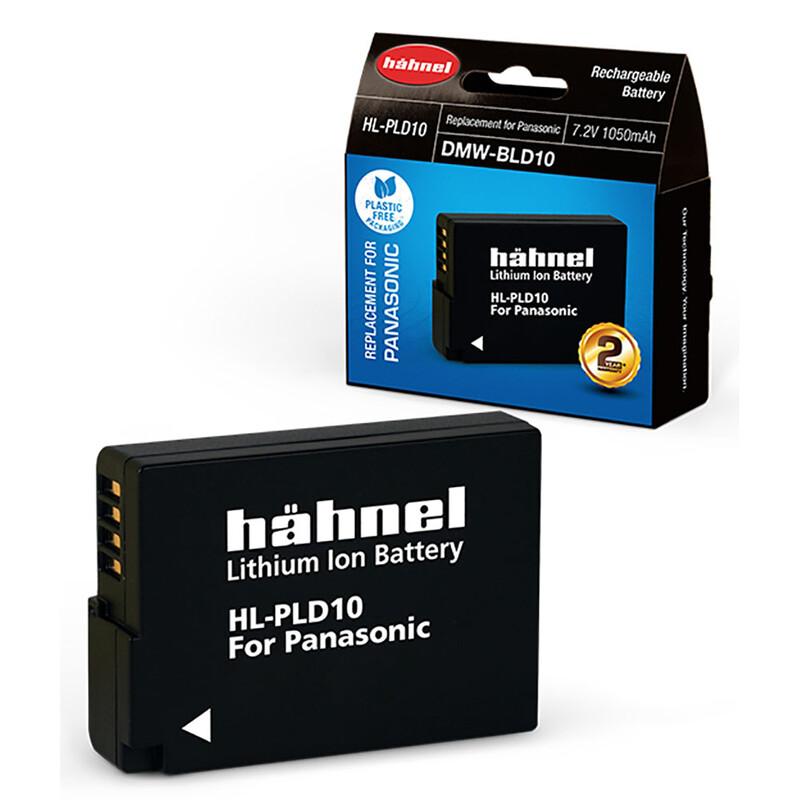 Hähnel Panasonic DMW-BLD10 Akku