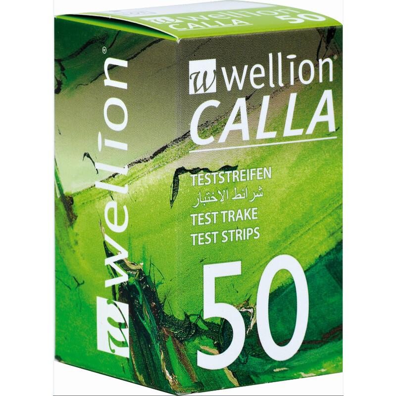 Wellion CALLA Light 50 Blutzuckerteststreifen