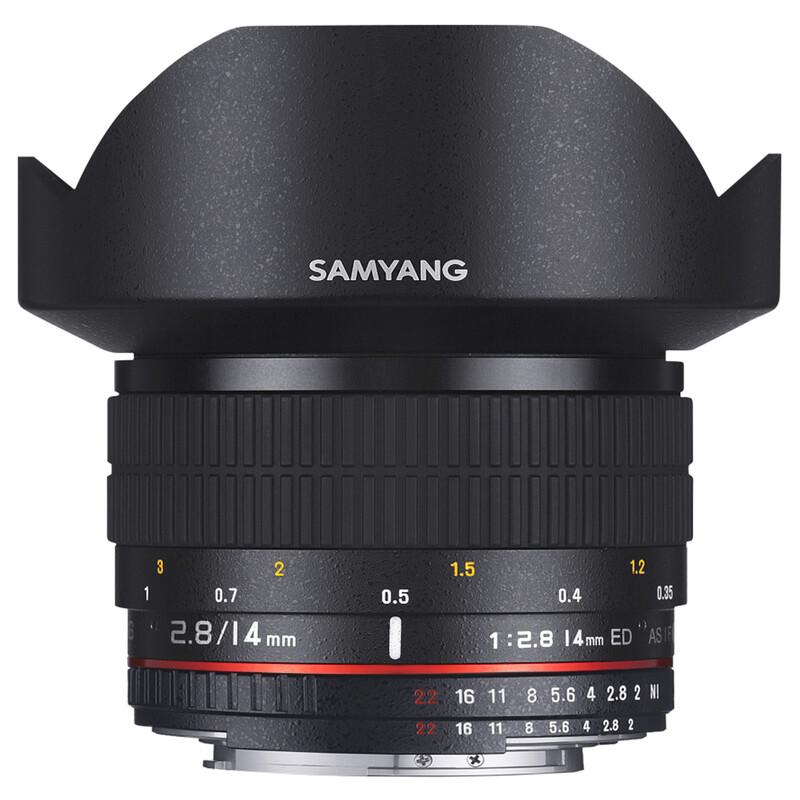 Samyang MF 14/2,8 Sony A
