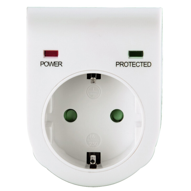 Hama 47771 Überspannungsschutzadapter