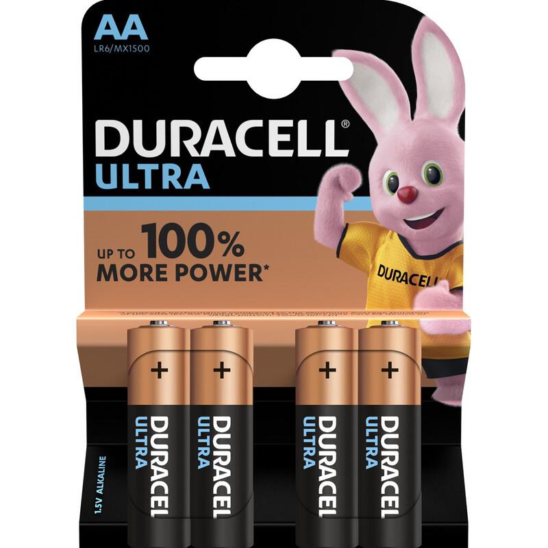 Duracell AA Ultra Power 1,5V 4er