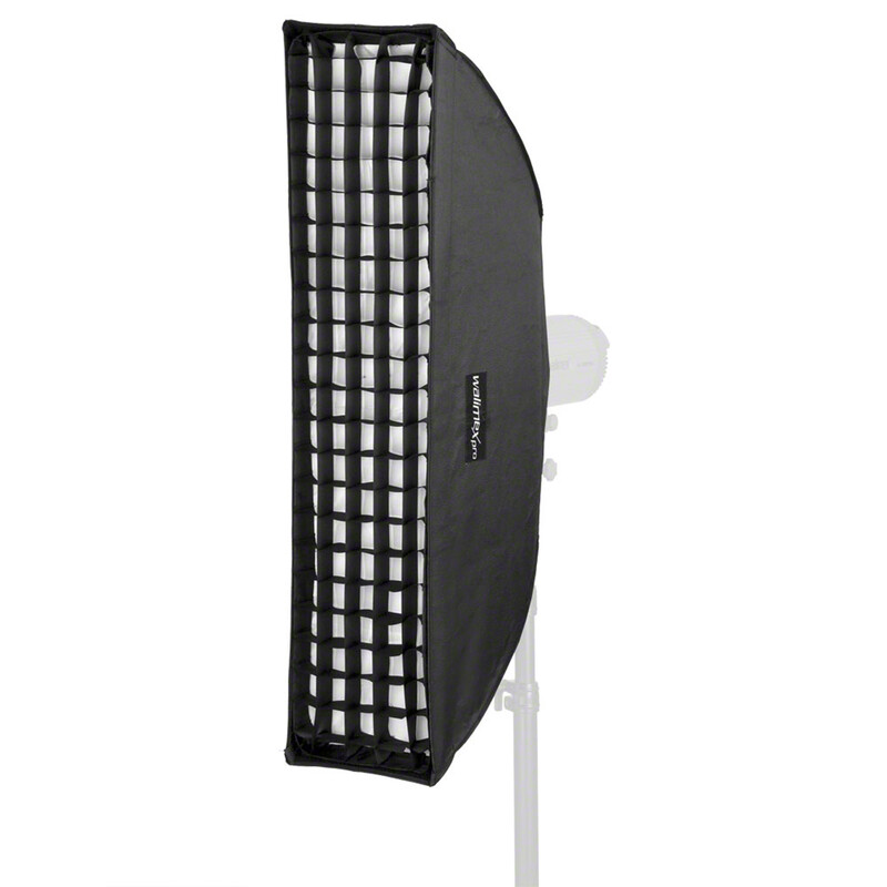 walimex pro Striplight PLUS 25x90cm für Hensel EH